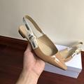 j'a     patent calfskin ballet pump  in nude patent calfskin 1 cm heel women   7