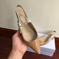 j'a     patent calfskin ballet pump  in nude patent calfskin 1 cm heel women   8