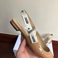 j'a     patent calfskin ballet pump  in nude patent calfskin 1 cm heel women   12