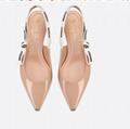 j'a     patent calfskin ballet pump  in nude patent calfskin 1 cm heel women   4