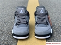 air jordan 4 retro mens shoe Cool Grey/Dark Charcoal/Varsity jordan shoes  7