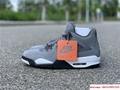 air jordan 4 retro mens shoe Cool Grey/Dark Charcoal/Varsity jordan shoes  8