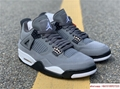 air jordan 4 retro mens shoe Cool Grey/Dark Charcoal/Varsity jordan shoes  10