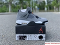 air jordan 4 retro mens shoe Cool Grey/Dark Charcoal/Varsity jordan shoes  17