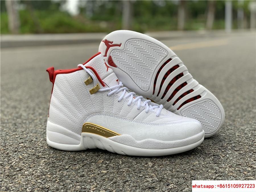 check out 34958 a86d7 PRE ORDER Air Jordan 12 Retro FIBA WHITE RED GOLD size 8 ...
