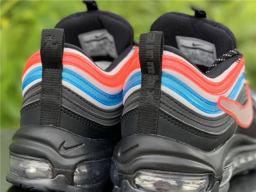 Nike Air Max 97 OA GS Seoul On-Air Gwang Shin Black Neon Blue Silver CI1503-001 18