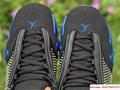 New Air Jordan Retro 14 Supreme Black Blue Men's Basketball BV7630-004 11