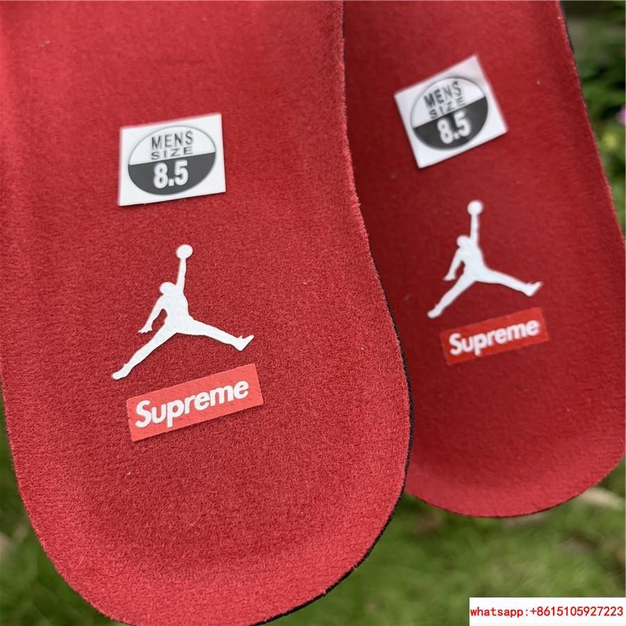New Air Jordan Retro 14 Supreme Black Blue Men's Basketball BV7630-004 13