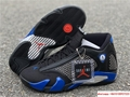 New Air Jordan Retro 14 Supreme Black Blue Men's Basketball BV7630-004 17