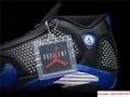 New Air Jordan Retro 14 Supreme Black Blue Men's Basketball BV7630-004 18