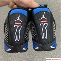 New Air Jordan Retro 14 Supreme Black Blue Men's Basketball BV7630-004 20
