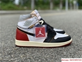 Nike Air Jordan 1 Retro High OG Union Black Toe Red New BV1300-106 2