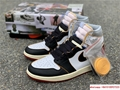 Nike Air Jordan 1 Retro High OG Union Black Toe Red New BV1300-106 5