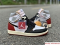 Nike Air Jordan 1 Retro High OG Union Black Toe Red New BV1300-106 7