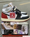Nike Air Jordan 1 Retro High OG Union Black Toe Red New BV1300-106 9