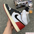 Nike Air Jordan 1 Retro High OG Union Black Toe Red New BV1300-106 17