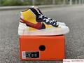 Sacai Nike Blazer Mid Varsity Maize Snow Beach BV0072-700  MAIZE NAVY 3