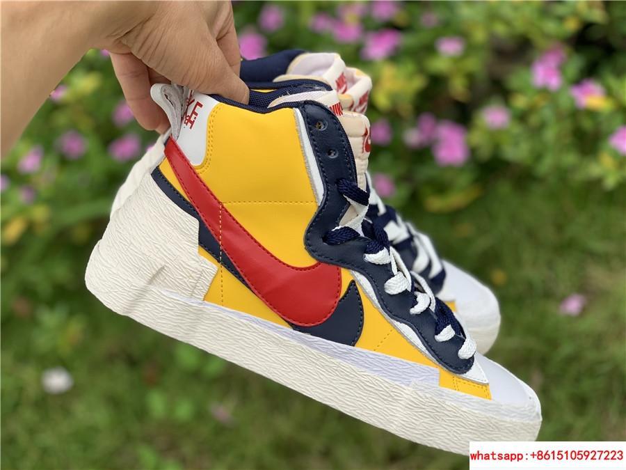Sacai Nike Blazer Mid Varsity Maize Snow Beach BV0072-700  MAIZE NAVY 8