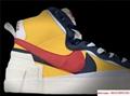 Sacai Nike Blazer Mid Varsity Maize Snow Beach BV0072-700  MAIZE NAVY 9