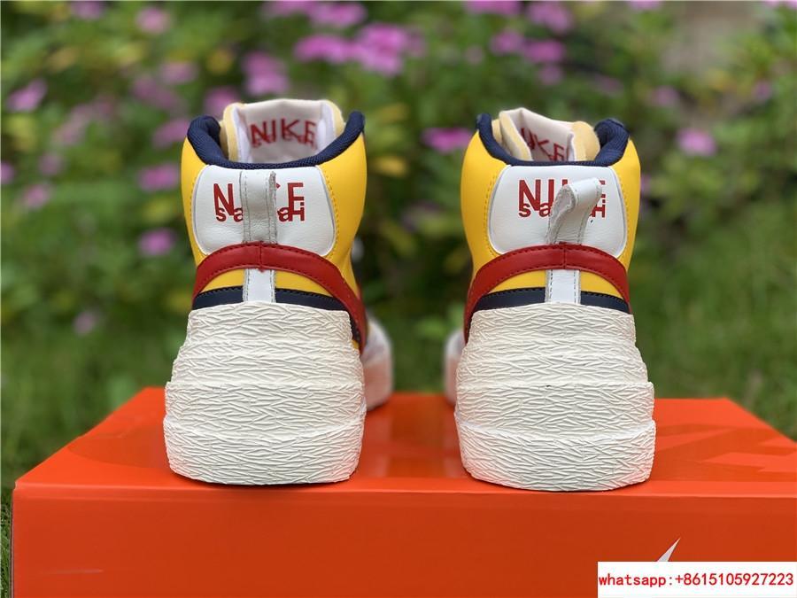 Sacai Nike Blazer Mid Varsity Maize Snow Beach BV0072-700  MAIZE NAVY 13