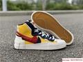 Sacai Nike Blazer Mid Varsity Maize Snow