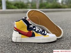 Sacai Nike Blazer Mid Varsity Maize Snow Beach BV0072-700  MAIZE NAVY