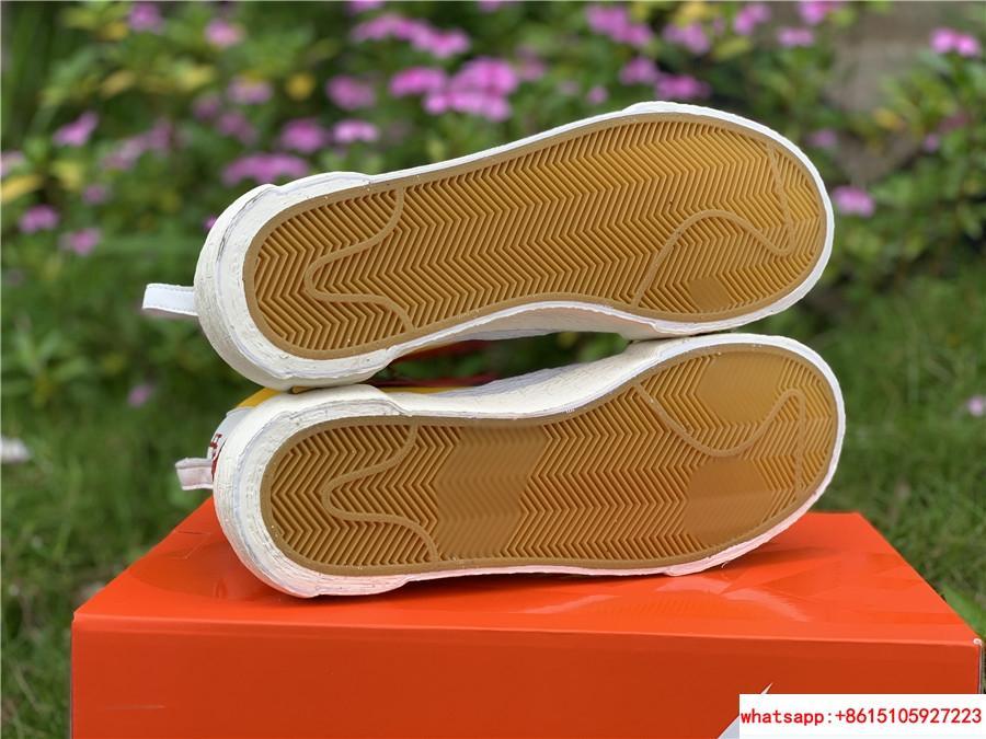 Sacai Nike Blazer Mid Varsity Maize Snow Beach BV0072-700  MAIZE NAVY 18