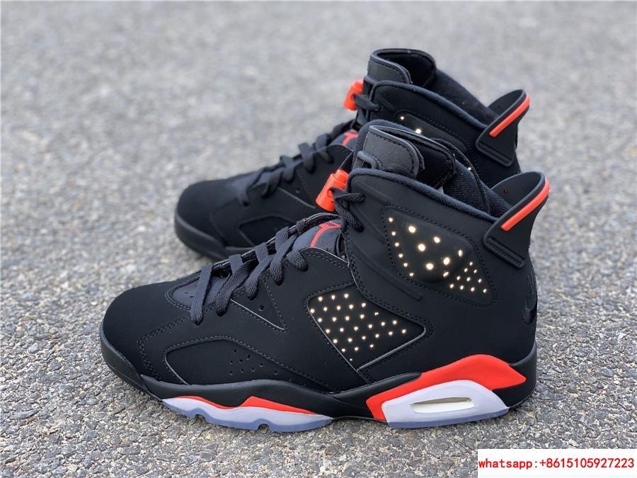 Nike Jordan 6 Retro OG Black Infrared Limited Stock All Sizes 384664-060 3