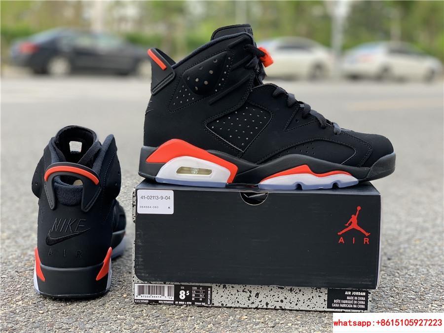 Nike Jordan 6 Retro OG Black Infrared Limited Stock All Sizes 384664-060 6
