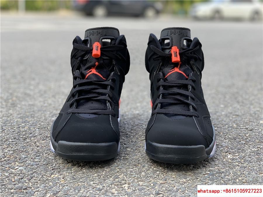 Nike Jordan 6 Retro OG Black Infrared Limited Stock All Sizes 384664-060 8