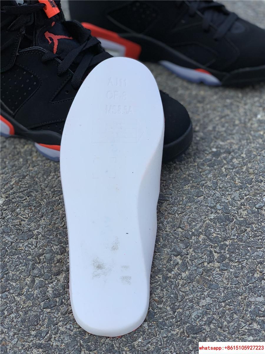 Nike Jordan 6 Retro OG Black Infrared Limited Stock All Sizes 384664-060 12