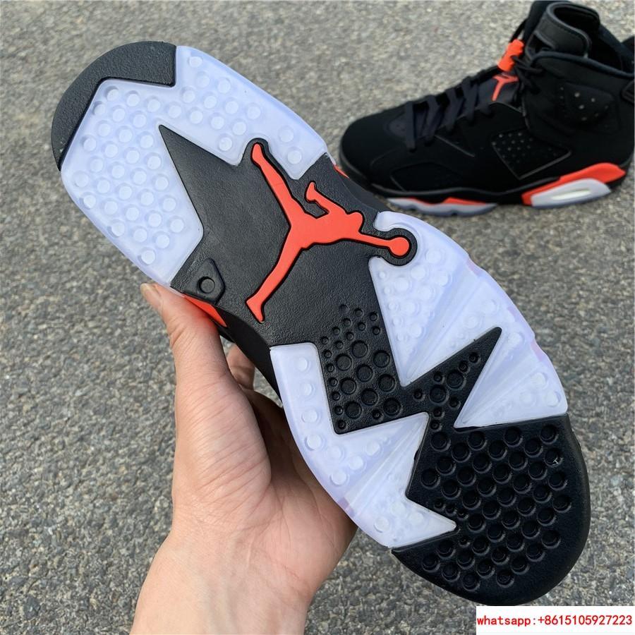 Nike Jordan 6 Retro OG Black Infrared Limited Stock All Sizes 384664-060 14