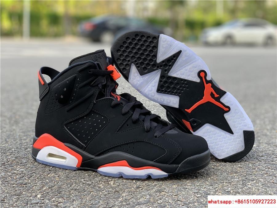 Nike Jordan 6 Retro OG Black Infrared Limited Stock All Sizes 384664-060 1