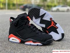 Nike Jordan 6 Retro OG Black Infrared Limited Stock All Sizes 384664-060