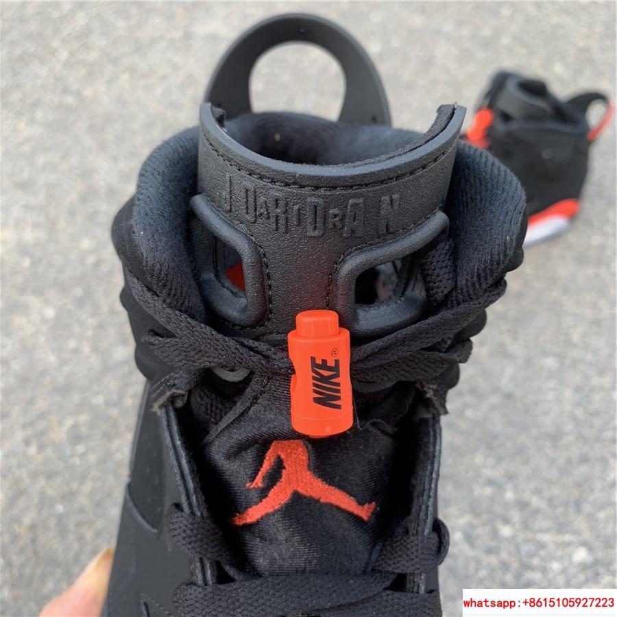 Nike Jordan 6 Retro OG Black Infrared Limited Stock All Sizes 384664-060 15