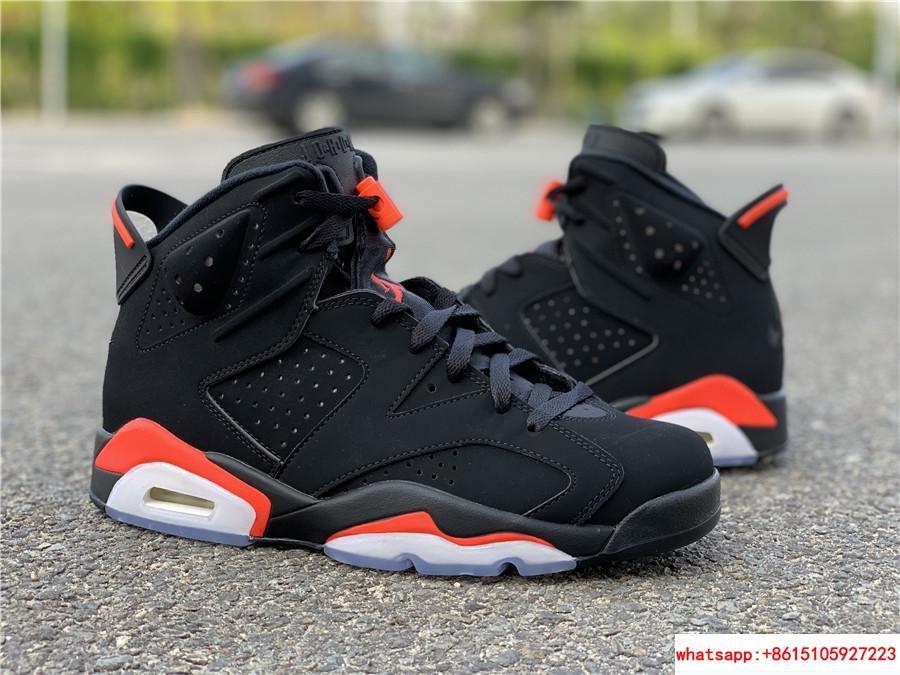 Nike Jordan 6 Retro OG Black Infrared Limited Stock All Sizes 384664-060 16