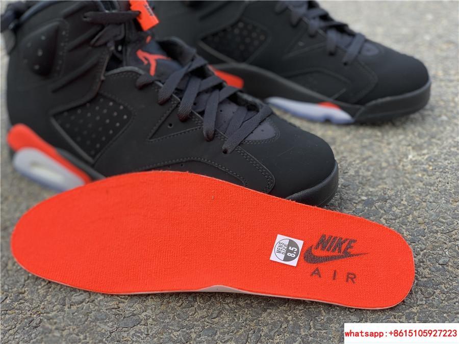 Nike Jordan 6 Retro OG Black Infrared Limited Stock All Sizes 384664-060 19