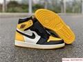 Air Jordan Retro 1 High OG Yellow Toe