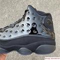 Nike Air Jordan 13 Retro Black Cap and Gown Men's Basketball Shoes 414571-012 2