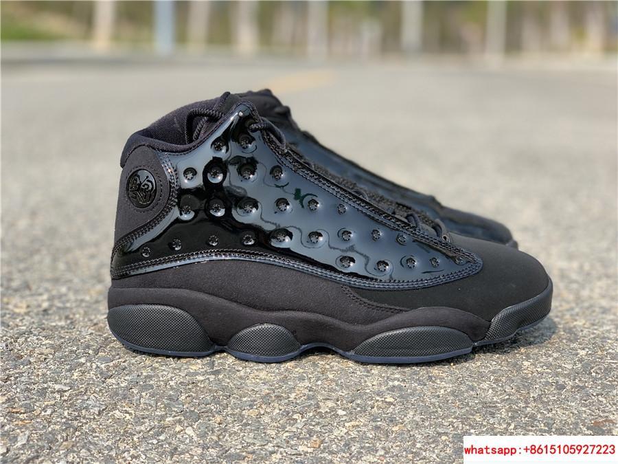 Nike Air Jordan 13 Retro Black Cap and Gown Men's Basketball Shoes 414571-012 1