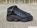 Nike Air Jordan 13 Retro Black Cap and