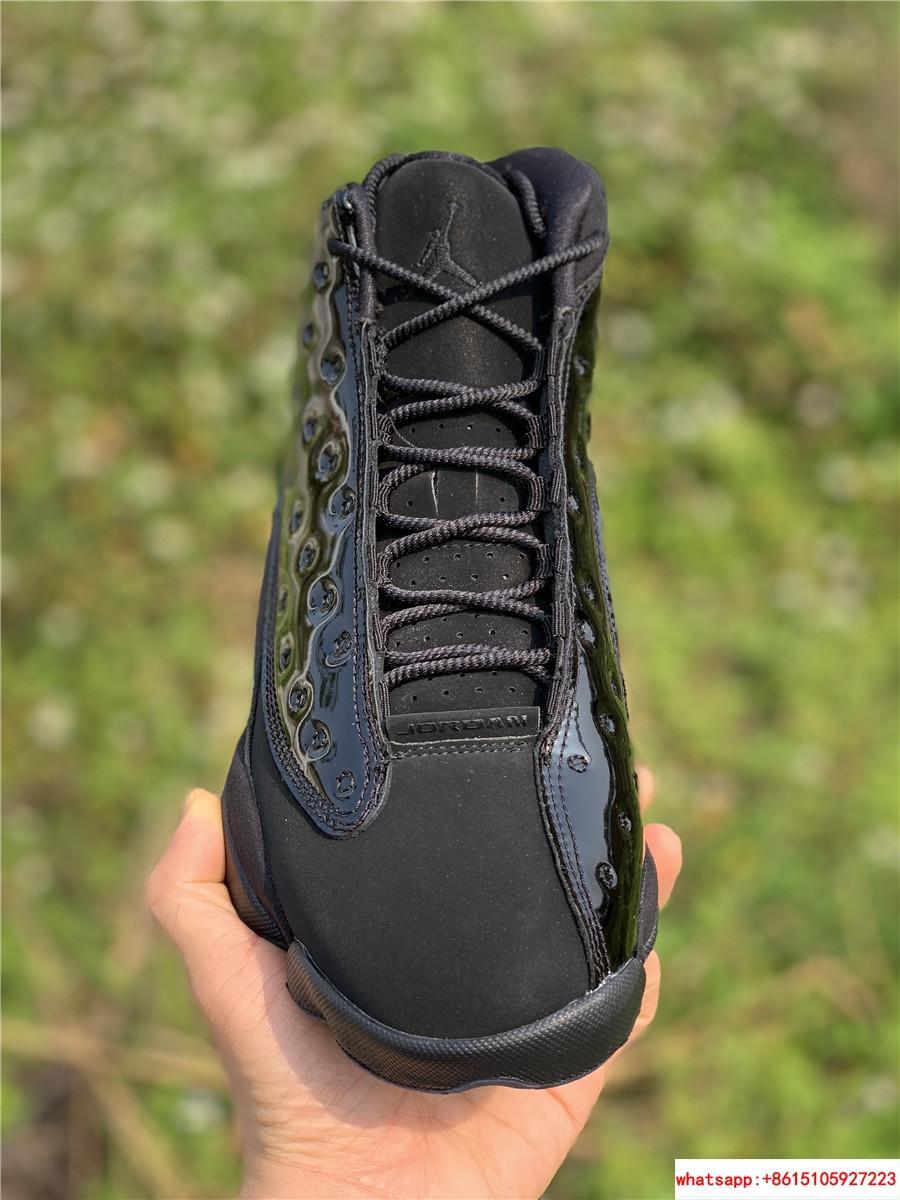 Nike Air Jordan 13 Retro Black Cap and Gown Men's Basketball Shoes 414571-012 9