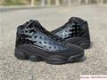 Nike Air Jordan 13 Retro Black Cap and Gown Men's Basketball Shoes 414571-012 12