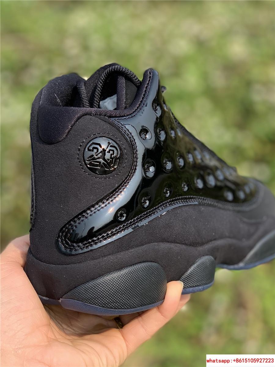 Nike Air Jordan 13 Retro Black Cap and Gown Men's Basketball Shoes 414571-012 16