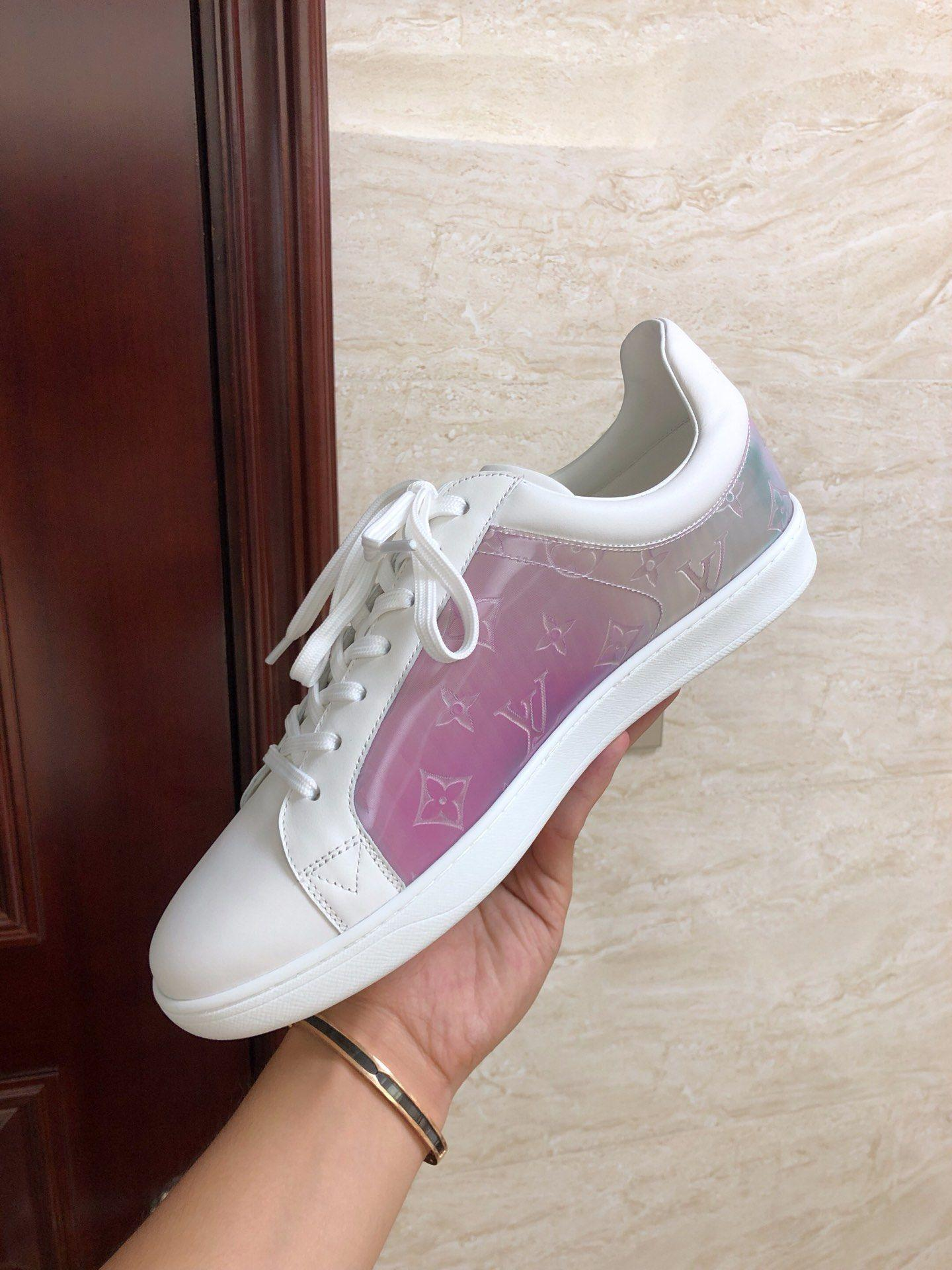 louis vuitton sneaker luxembourg Rose lv sneaker newest lv shoes 1A5HBA   8