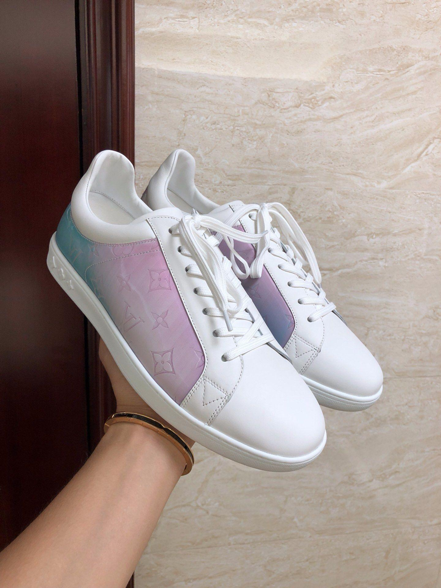louis vuitton sneaker luxembourg Rose lv sneaker newest lv shoes 1A5HBA   5