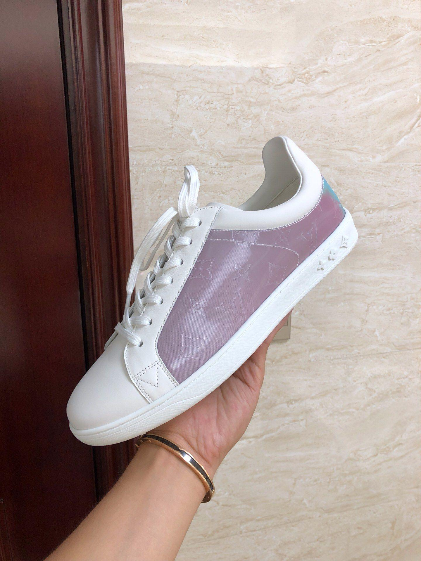 louis vuitton sneaker luxembourg Rose lv sneaker newest lv shoes 1A5HBA   13
