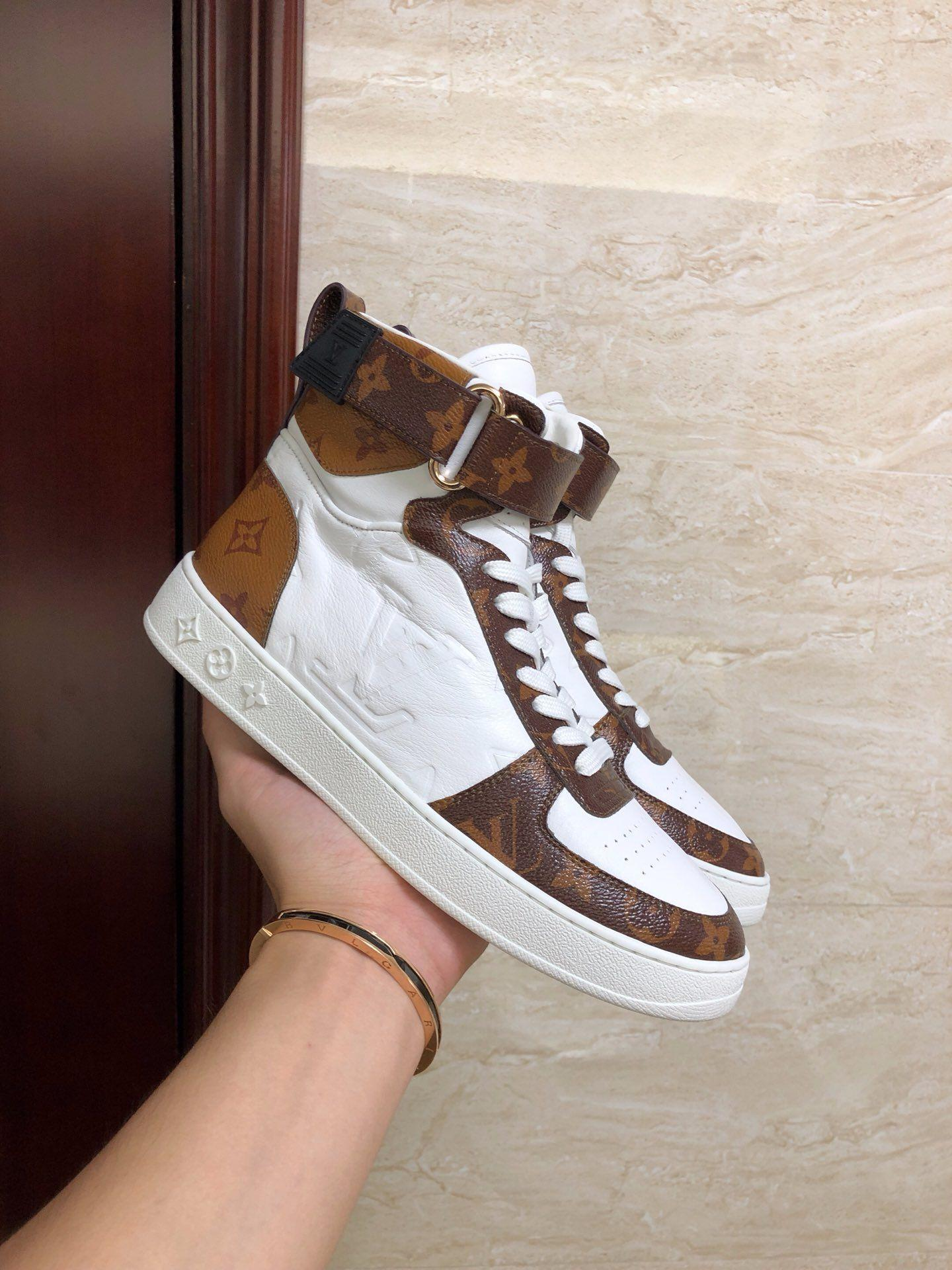 boombox sneaker boot    women sneaker 1A5MWJ Embossed lamb leather  White  4