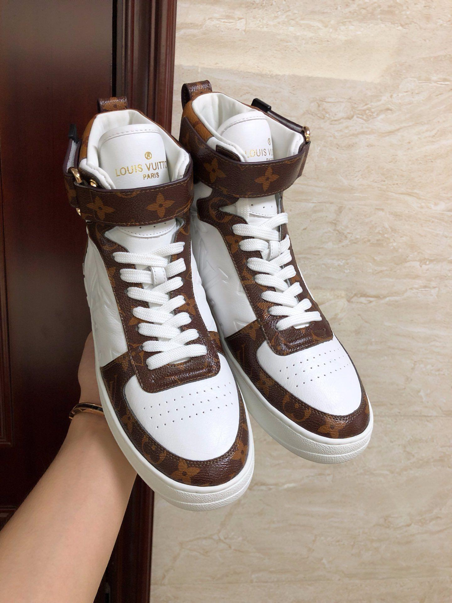 boombox sneaker boot    women sneaker 1A5MWJ Embossed lamb leather  White  5