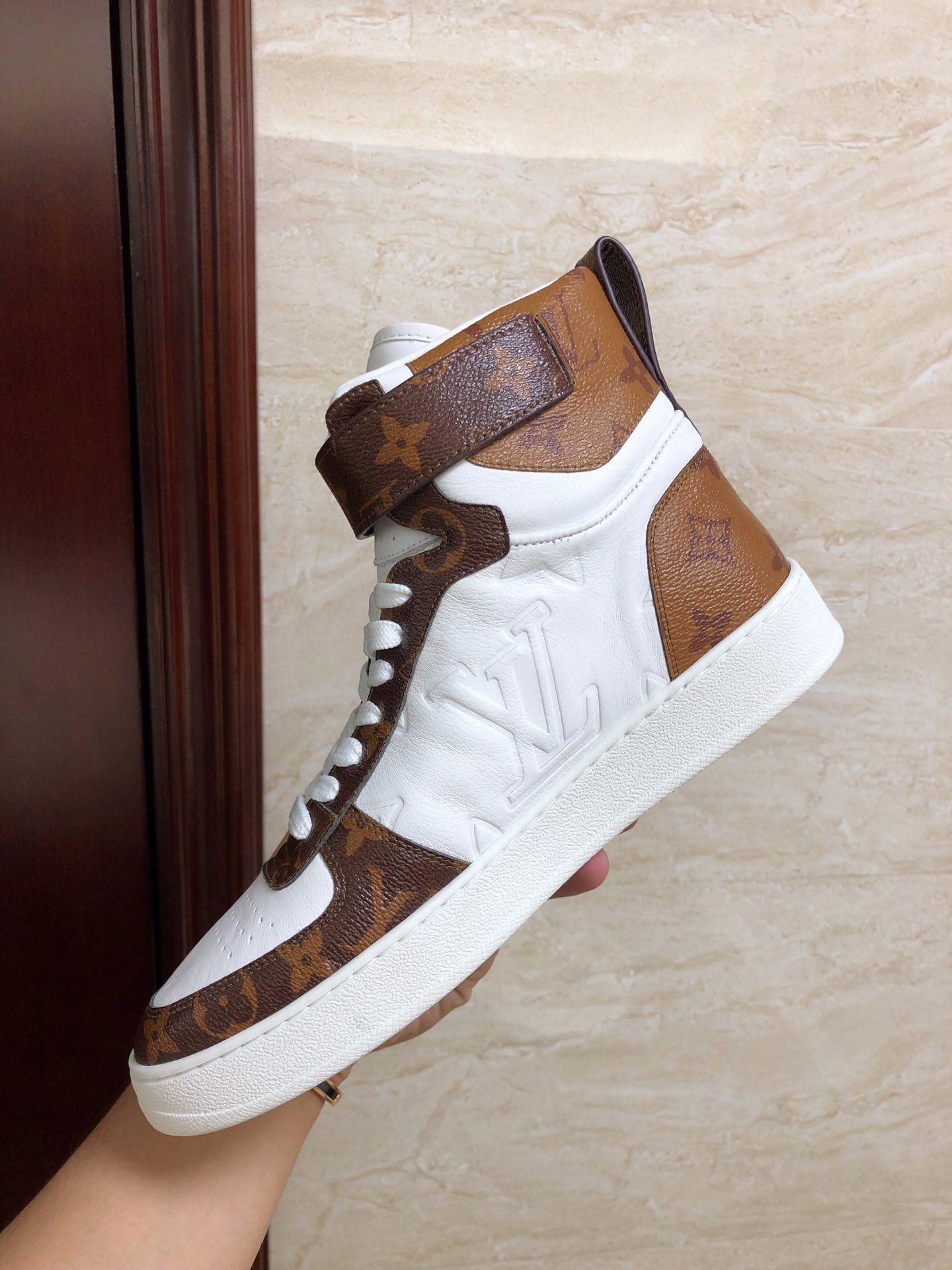 boombox sneaker boot    women sneaker 1A5MWJ Embossed lamb leather  White  7